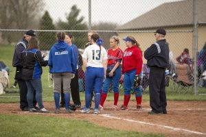 JV Girls Softball vs. Brown County