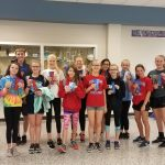 Girls Middle School Track finishes 1st place at Central Middle School-Columbus @ Indian Creek Middle School