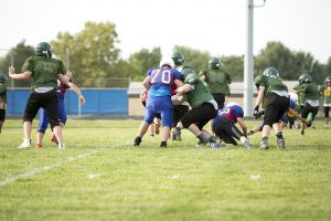 7th Grade Football Scrimmage