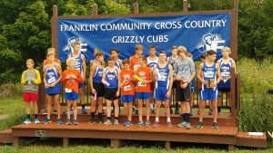 MS Boys and Girls Cross Country Franklin Invitational 9-12-2018