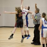 6th Grade Girls Basketball vs. Edinburgh MS
