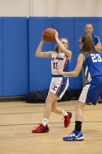 7th Grade Girls Basketball vs. Waldron