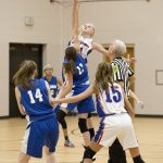 8th Grade Girls Basketball vs. Waldron