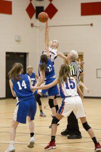 8th Grade Girls Basketball vs. Waldron