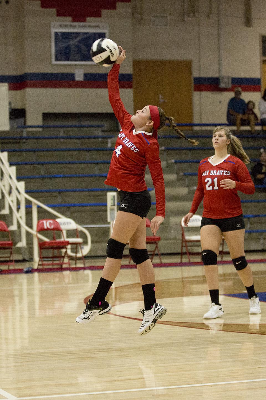 7th Grade Volleyball vs. Brown County