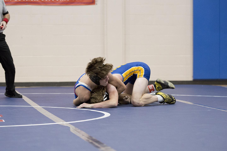 Varsity Coed Wrestling vs. Brown County