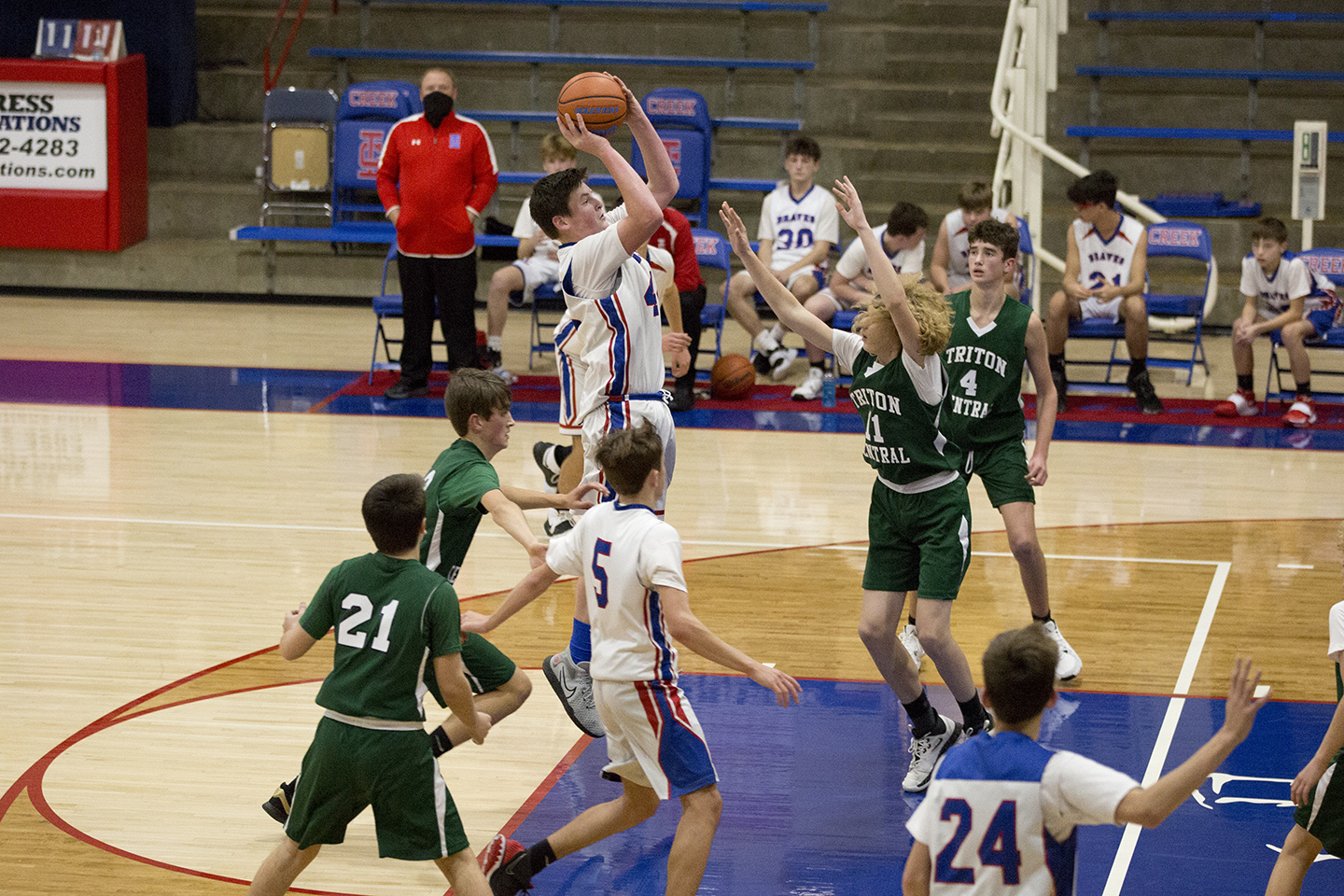 8th Grade Boys Basketball vs. Triton Central