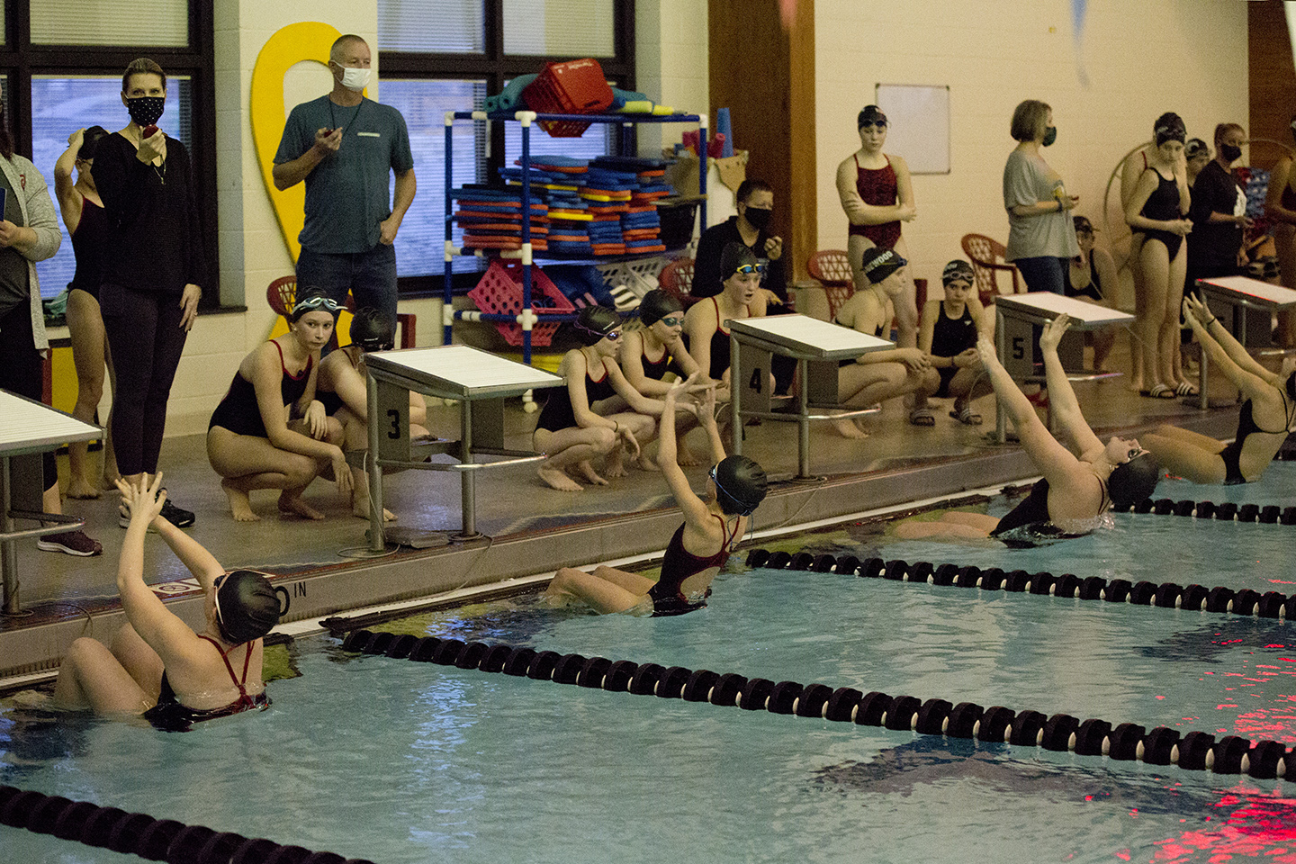Middle School Girls & Boys Swimming and Diving vs. Edgewood