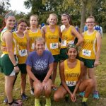 Girls Cross Country Wins City League Opener
