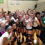 Varsity Volleyball wins City Championship over Bowsher