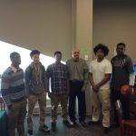 Senior Basketball Players Sign