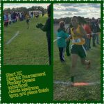 Good Luck to Alexis Medrano at Regional CC Meet