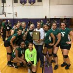 Freshman Volleyball wins City Final over Bowsher