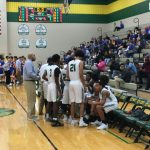 Varsity Boys triumph over the Trojans, 50-42
