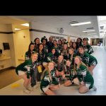 Cheerleaders Promoting 'No One Eats Alone' at Longfellow Elementary