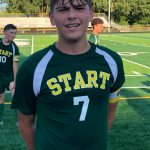 Senior Jake Baumgartner sets school record for goals