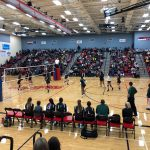 Volleyball triumphs over the Lady Rebels