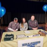 Mya Wright signs to play softball at Notre Dame College