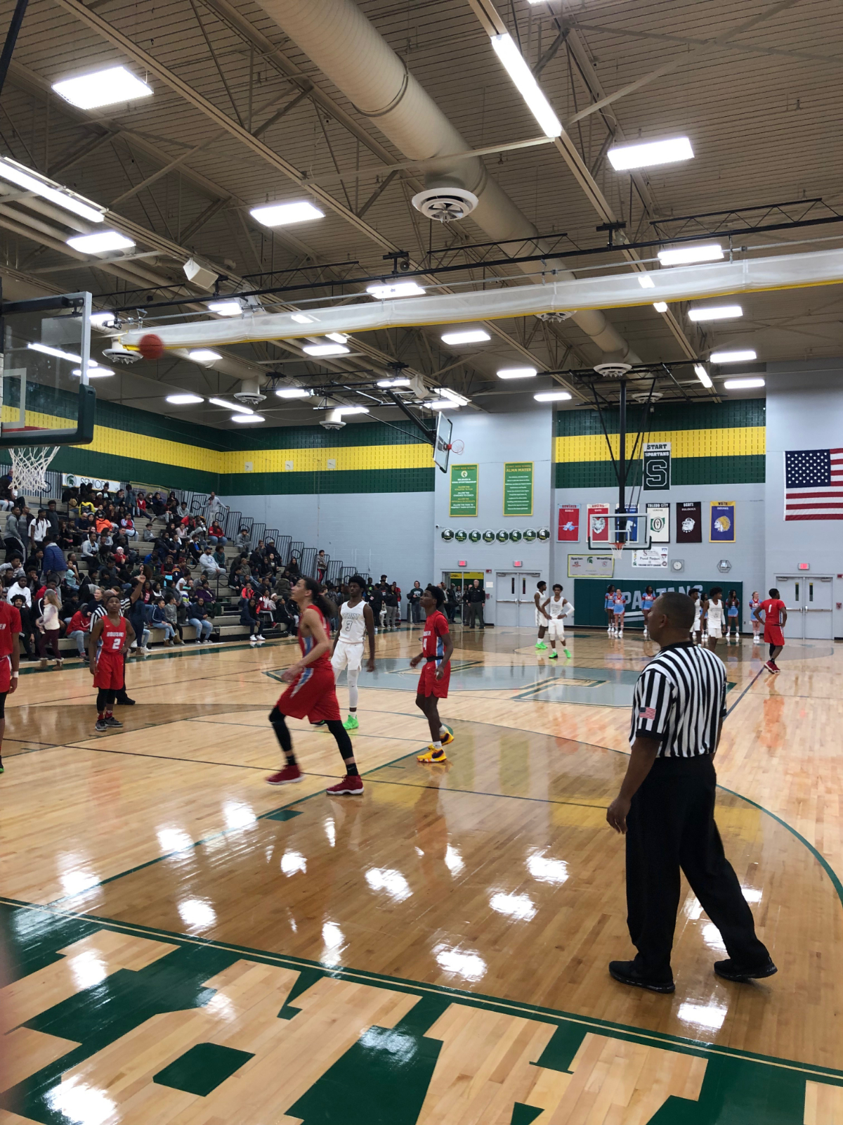Spartans trip up the Rebels