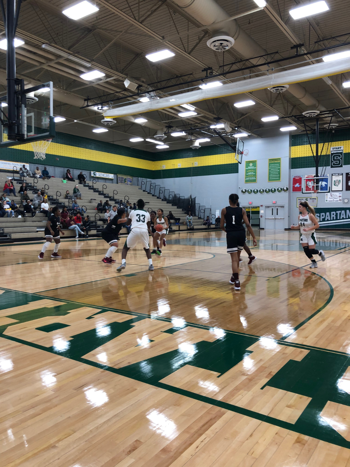Lady Spartans dispatch the Lady Bulldogs