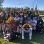 Varsity Softball and Baseball enjoying their time in Myrtle Beach