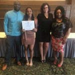 Blu Williams honored at the Toledo Club
