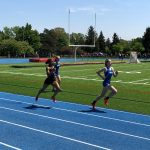 Boys and Girls Track compete at District Meet