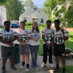 Football completes community service work in June