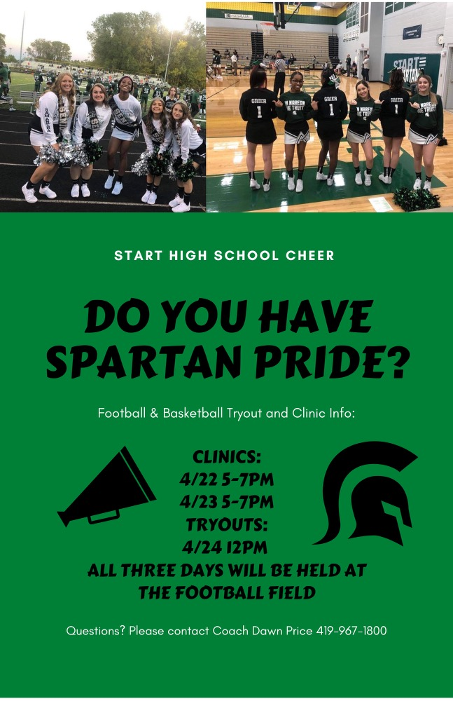 Cheer Tryouts to take place this week