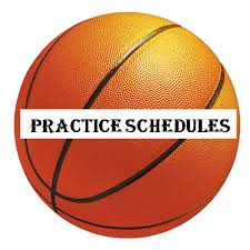 November 19 – December 8 Practice Schedule