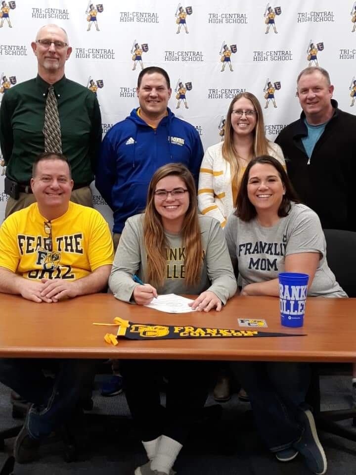 Carinne Henderson Signs At Franklin College