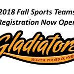 2018 Fall Sports Teams Info Sheets