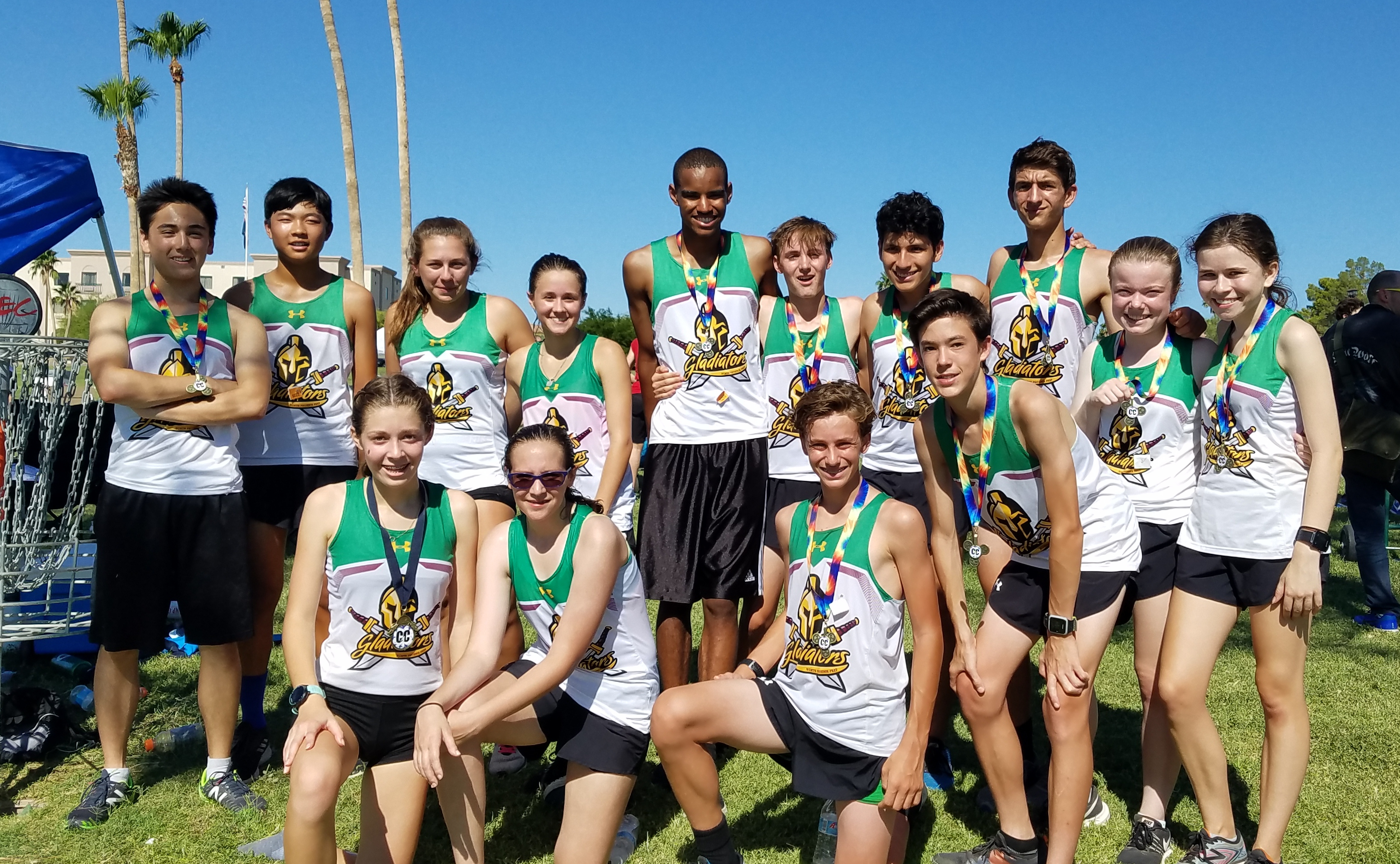 Impressive Week for Gladiators HS Cross Country