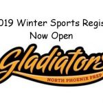 Winter Sports Registration announcement.