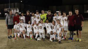 2018-2019 Varsity Soccer