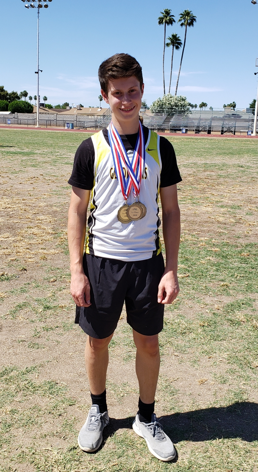Gladiators MS Track and Field Championships – Boys place 3rd – Girls place 5th