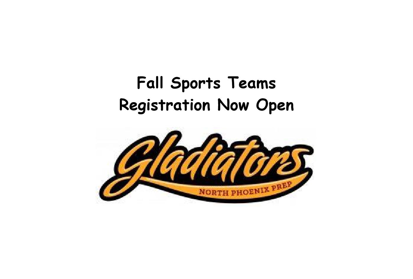 2020 Fall Sports Teams – Info Sheets