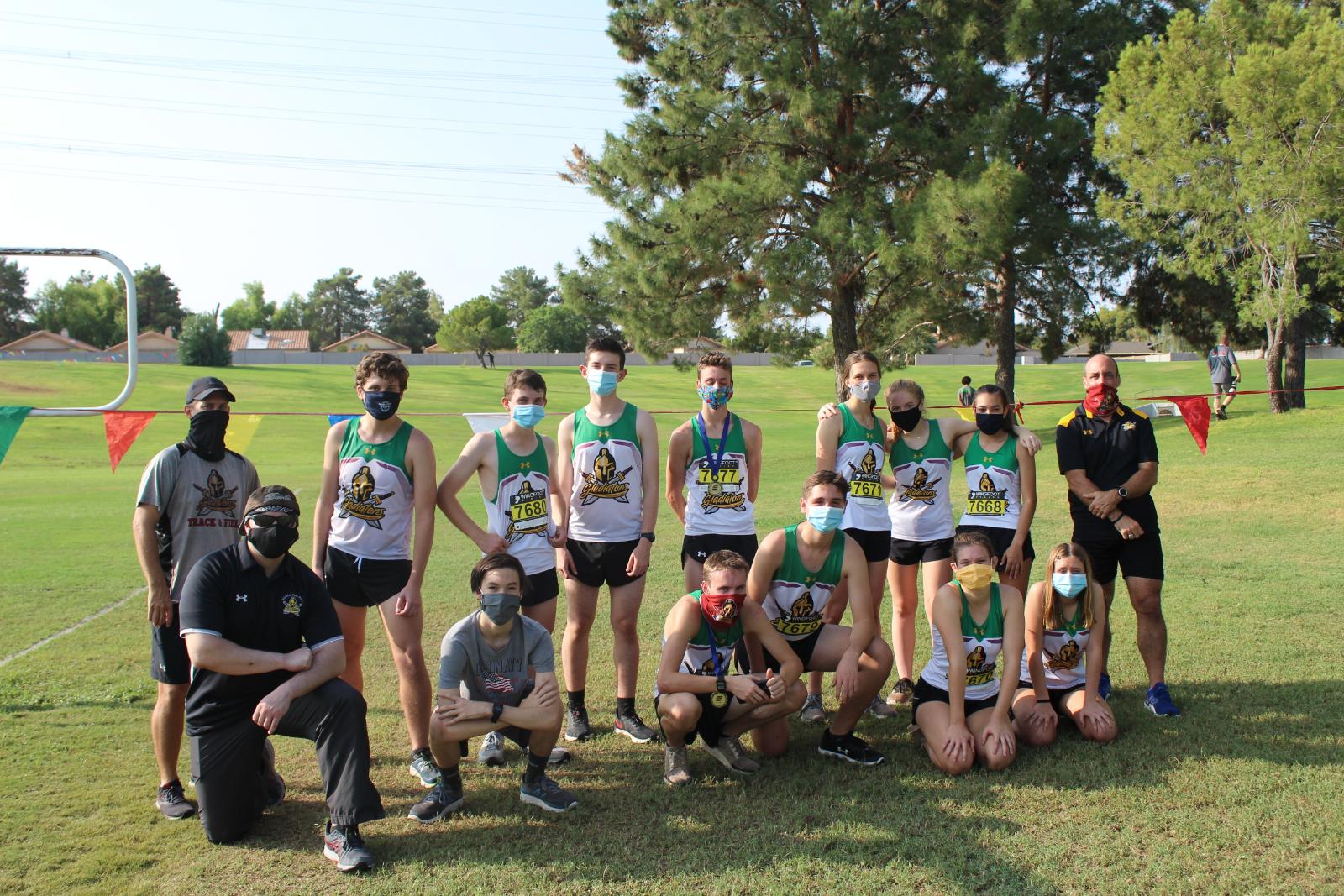 Cross Country Team Photo