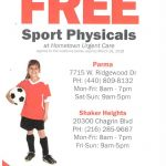 Free Sports Physicals