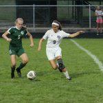Girls Soccer Action vs EC