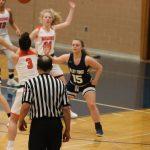 Girls Basketball Action vs Padua