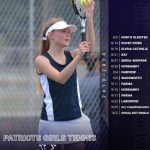 2019 Girls Tennis Schedule