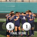 Boys Soccer Gets First Win of the Season.