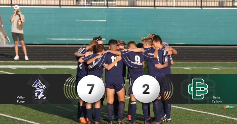 Boys Soccer Final 7-2 win over Elyria Catholic
