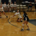 Varsity Volleyball Action Pics