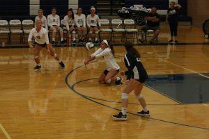 Varsity Volleyball Action Pics