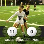 Kelsey Lee/Savannah Zambory shine in an 11-0 win over Parma Senior