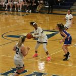 Girls Basketball Action Pics v Bay