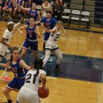 Fr & JV Girls Basketball Action Pics v Bay
