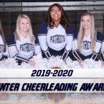 Winter Cheerleading Season Awards
